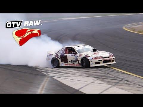 OTV RAW: Aaron Dewar V8 Nissan S14 - International Drifting Cup, WTAC 2018