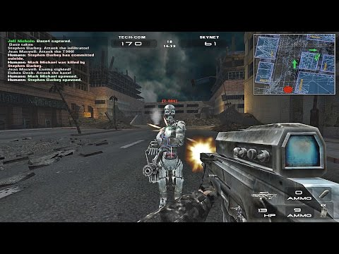 Terminator 3: War of the Machines Walkthrough # 1 (PLAZA)