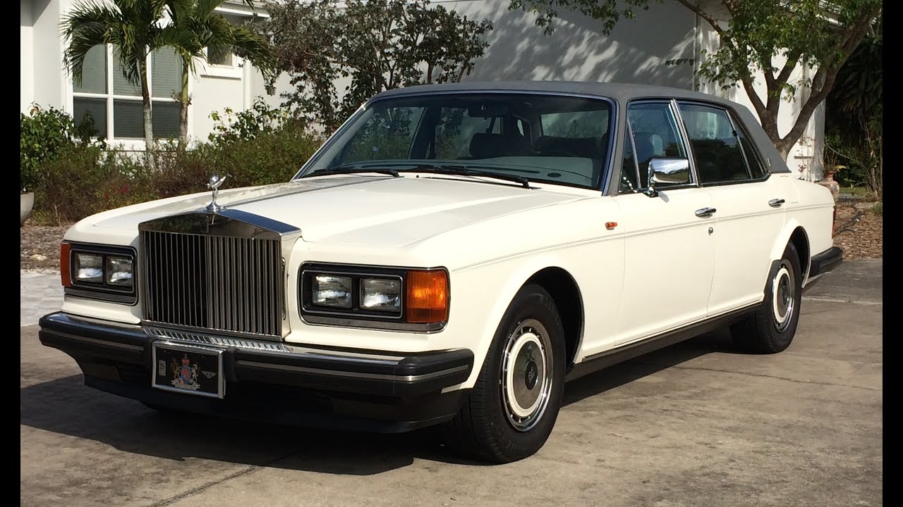 1991 Rolls Royce Silver Spur II Excellent Original Condition 35k Miles
