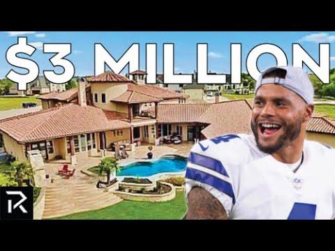 Touring Dak Prescott's $3M+ Texas Mansion