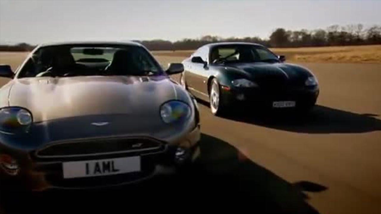 Jaguar Xkrr V Aston Martin Db7 Top Gear Youtube
