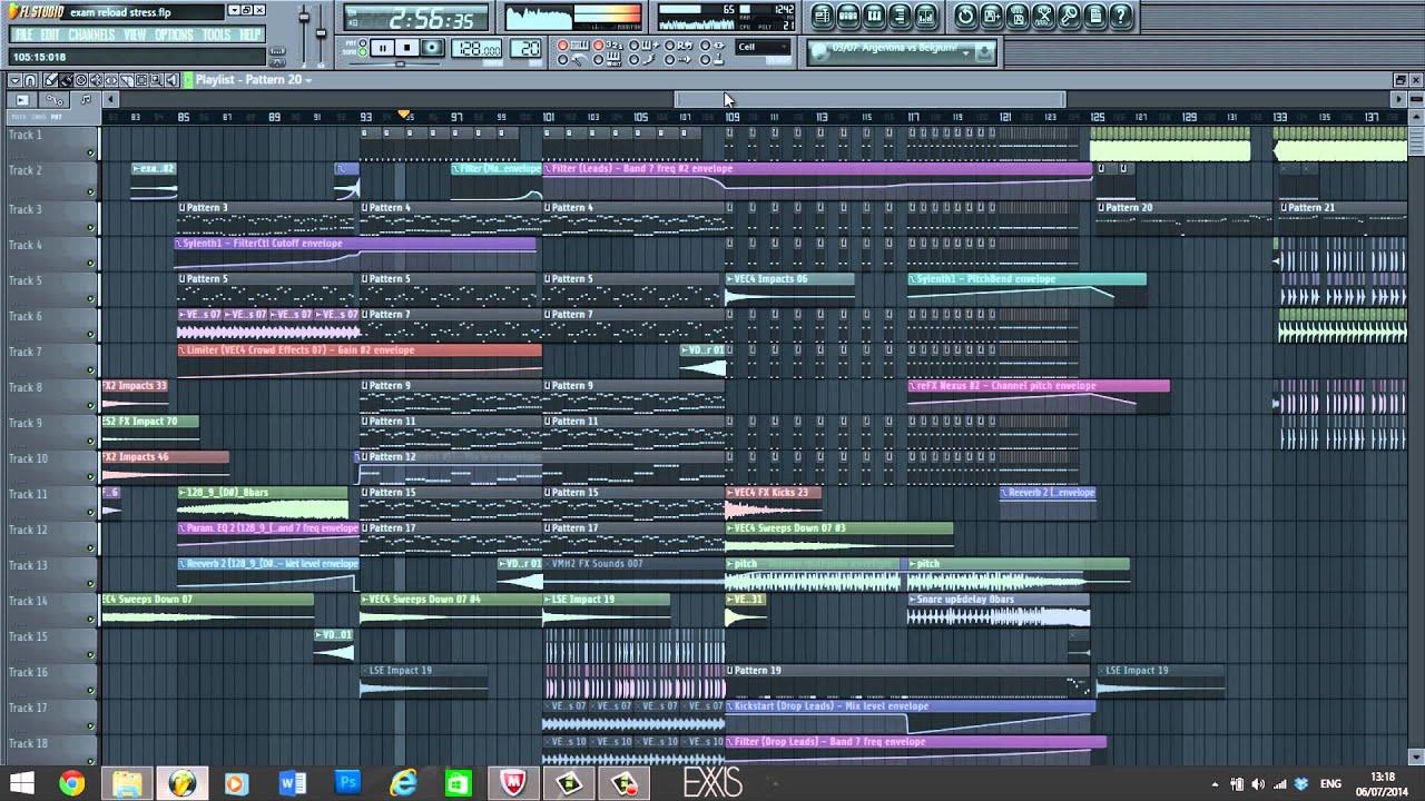 FL Studio Big Room House \'Juno\' - YouTube