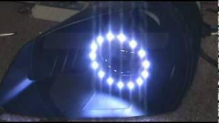 RGB Angel Eyes with projector retrofit