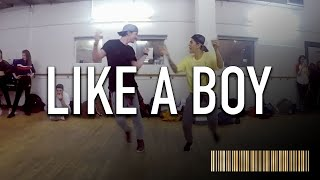 LIKE A BOY by Ciara Dance Commercial Dance Routine   @BrendonHansford Choreography