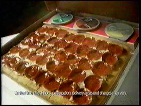 Pizza Hut - New Dipping Strips Pizza - 2005 - YouTube