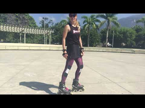 How to safely skate backwards to reduce falls or fall correctly.
