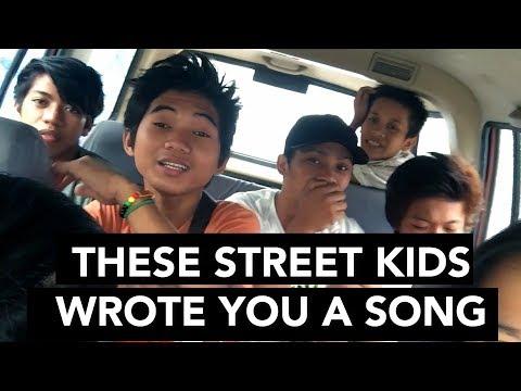 FILIPINO STREET KIDS WROTE YOU A SONG (Tagalog & Bisaya)