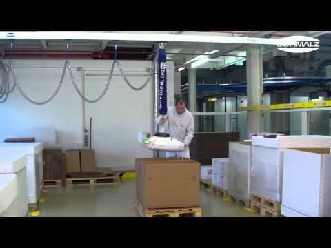 COMBINA - Vacuum Lifter - เครื่องยกถุงกระดาษ ถุงกระสอบ