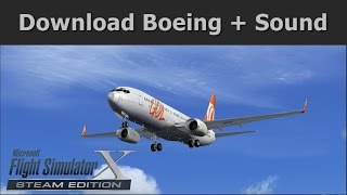 FSX ✈ Download Boeing 737-800WL GOL + Real Sound - Pousando em Congonhas