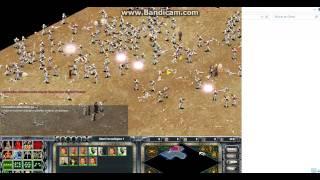 Star Wars Galactic Battlegrounds 700 CLONE VS 70 JEDI