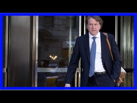 White house counsel donald mcgahn dishes on how trump created supreme court short lists