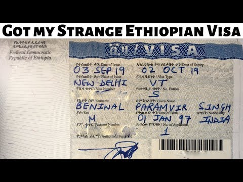 Ethiopia Visa Process | E-Visa | Visa On Arrival | Hindi