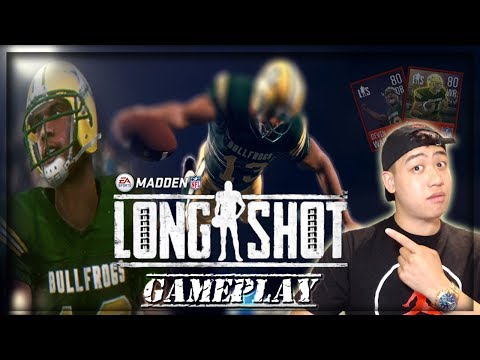 Madden Mobile 18 Long Shot Prequel Gameplay!!