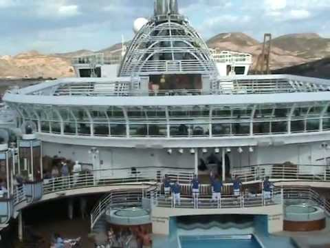 P & O Azura Sail Away Cruise Party
