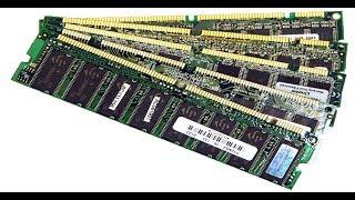 Золото из микросхем памяти RAM
