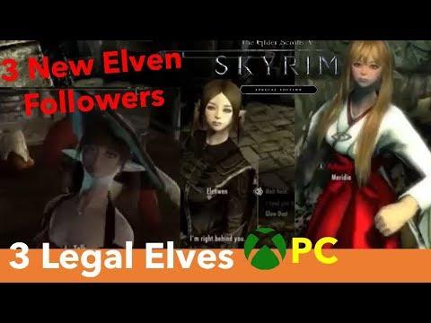 Skyrim SE Xbox One/PC Mods|IdioticIdiot - 3 Legal Elves