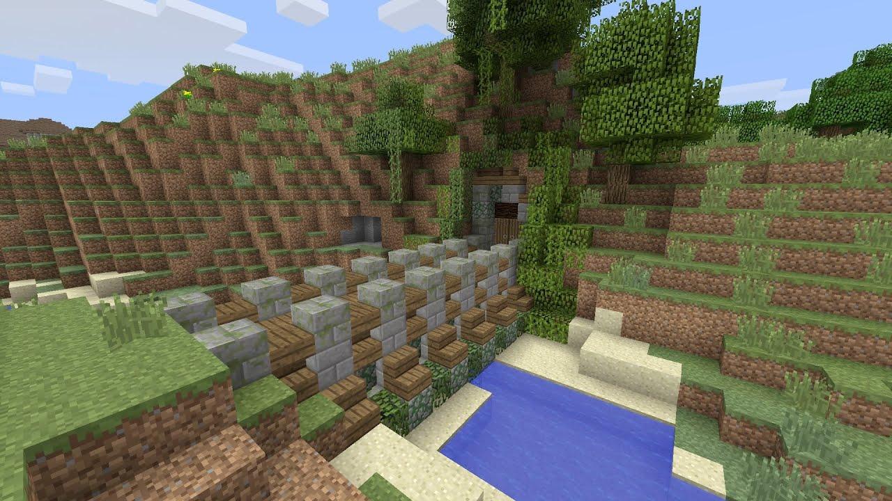 Minecraft 7 Wall designs YouTube