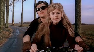 Мотоциклистка / Девушка на мотоцикле / Голая под кожей / Марианна Фэйтфул / Ален Делон / 1968