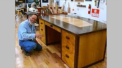 Making a Veneered Executive Desk Part 6-1, Drawer Parts: Andrew Pitts~FurnitureMaker
