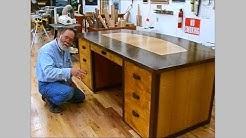 Making a Veneered Executive Desk Part 6-1, Drawer Parts: Andrew Pitts~FurnitureMaker