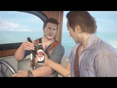 Cinematic Gameplay - Crushing | Chapter 12: At Sea (Uncharted 4: A Thief's End)