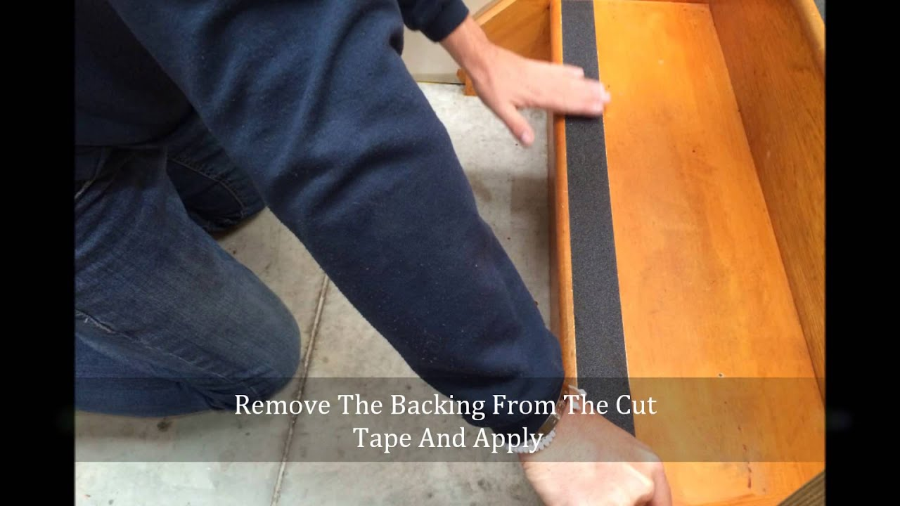 How To Apply Anti Slip Tape On A Step From Dmd Direct