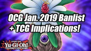 Yu-Gi-Oh! Official OCG January 2019 Banlist + TCG Implications!