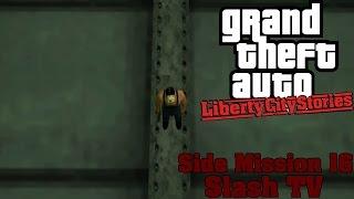 GTA: Liberty City Stories (PSP Emu) Side Mission #16 - Slash TV