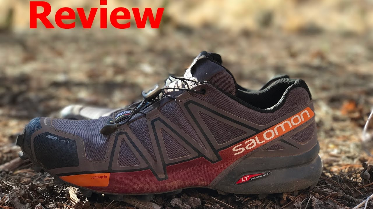 0c86fd70c974 REVIEW  Salomon SPEEDCROSS 4 CS - YouTube