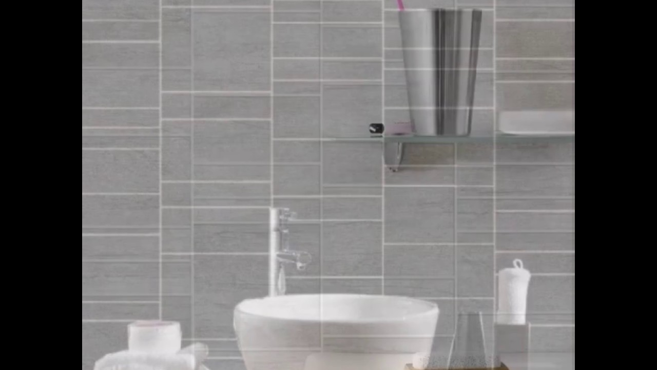 Dumapan Stone Tile Effect Panels - YouTube