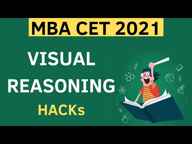 Must get 25 Marks - Visual Reasoning Hack for MBA CET 2021. Short tricks and tips