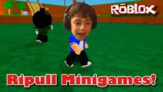 Roblox Let's Play: Ripull Minigames Tour and Review