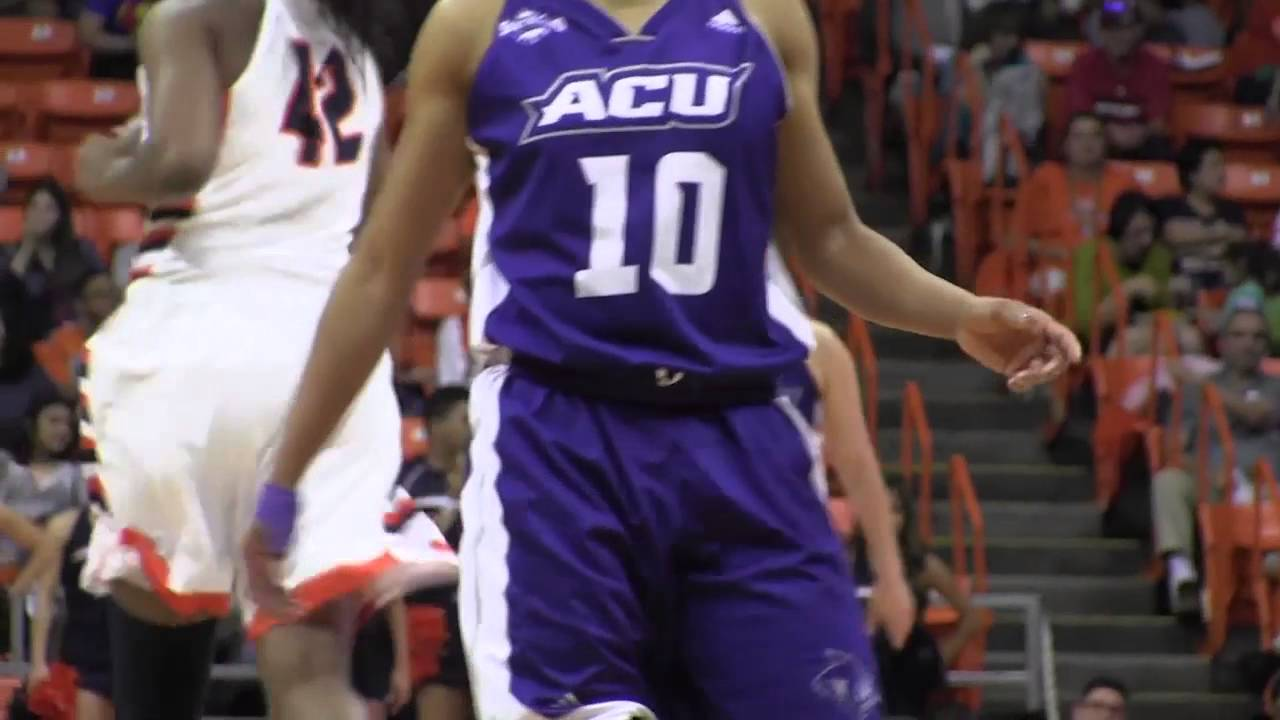 ACU Women's Basketball | ACU vs UTEP - YouTube