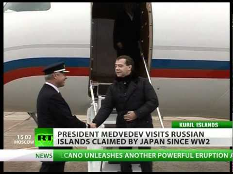 Pacific storm: Russia-Japan tension rises over Medvedev's visit to Kuril Islands