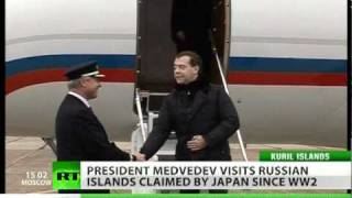 Pacific storm: Russia-Japan tension rises over Medvedev