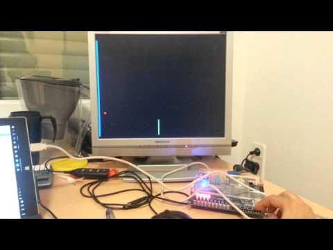 FPGA : Verilog VGA controller : Ping Pong