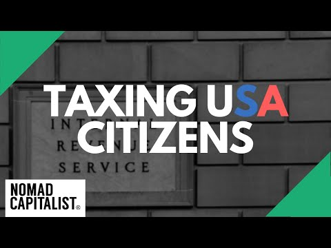 Why Does the US Have Citizenship-Based Taxation?