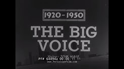 YESTERDAY'S NEWSREEL  INTERNATIONAL RADIO BROADCASTING 1920-1950   RUFUS B. VON KLEINSMID    64494a