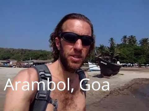 Amazing Arambol beach, Goa, India