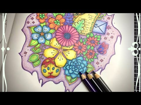 IVY AND THE INKY BUTTERFLY | COLOUR ALONG| POLYCHROMOS
