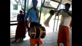 Indian music at temple festival-part2