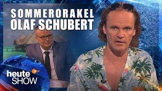 Olaf Schubert blickt voraus auf den Sommer 2017 | heute-show vom 02.06.2017