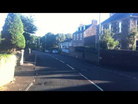 Cab ride through Selkirk - Scottish Borders