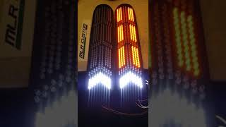 Toyota Supra Tails Aventador Style  LEDs Plates