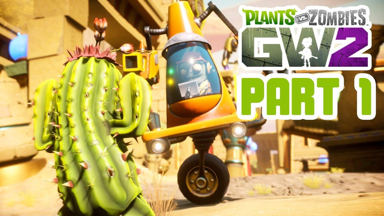 Plants Vs Zombies Garden Warfare 2 Gameplay Walkthrough Part 1 Importing Characters Quests