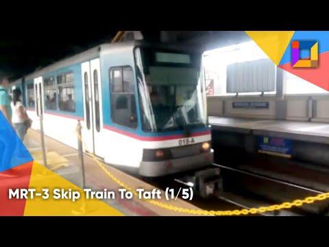 The PRA Channel Rail Specials: MRT-3 Skip Train Ride from Quezon Avenue to Taft Avenue (Part 1)