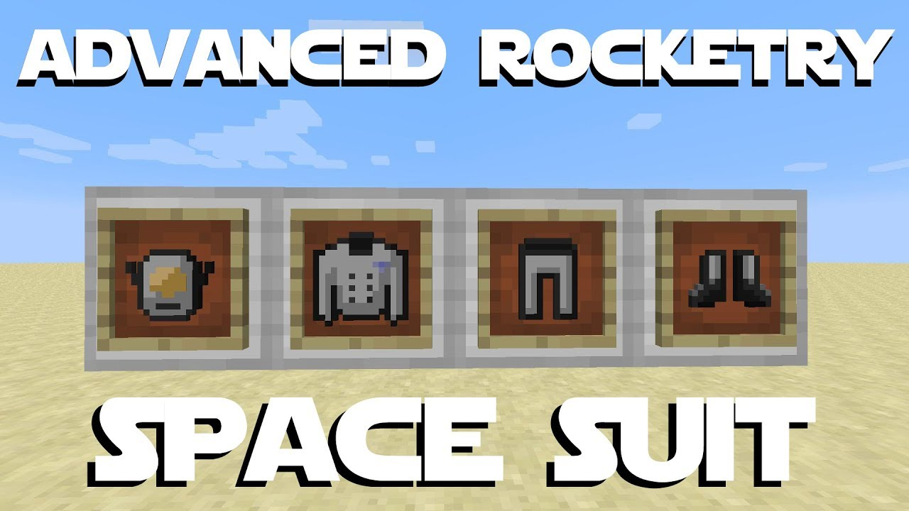 Advanced Rocketry Tutorial Part 6 - Suit Workstation, Space Suit, Beacon, &  Gas Charge Pads by bongotezz