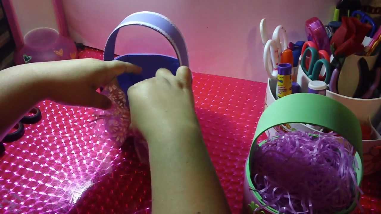 Canastita de fomy dulceros o porta regalo original for Regalos para fiestas de cumpleanos infantiles