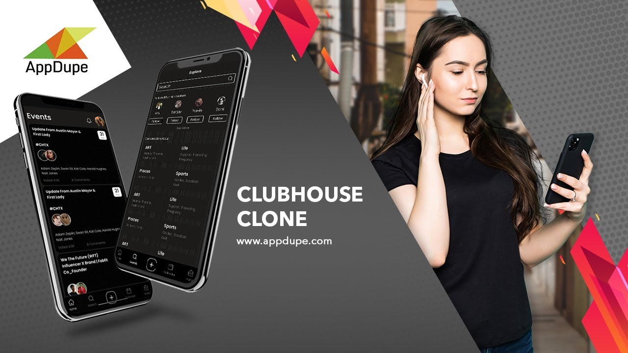 Clubhouse Clone - Launch an Audio-based Social Media App Instantly With Appdupe!
