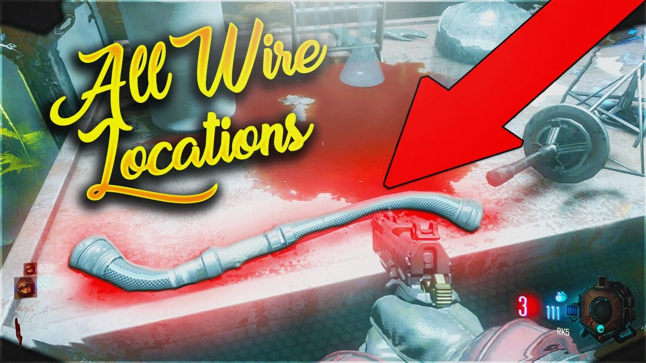 ALL WIRE LOCATIONS ON MOON REMASTERED! - CALL OF DUTY BLACK OPS 3 ...